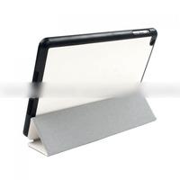 Чехол Smart-cover для Apple iPad mini 1,2,3, полиуретан, черно-белый