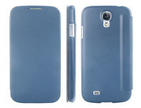 Чехол-книжка на Samsung S4 полиуретан, HotGo, синий