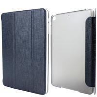 Чехол Smart-cover для Apple iPad mini 1,2,3, полиуретан, текстура, черный