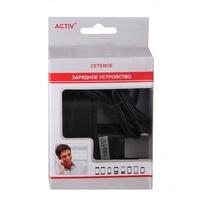 Сетевое зарядное устройство microUSB, Active, 1A,  черный