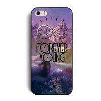 Чехол-накладка на Apple iPhone 6/6S, пластик, forever young