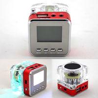 Портативная колонка NiZHi, FM Radio, microSD, USB, LCD, красный