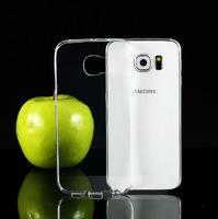 Чехол-накладка на Samsung S6 Edge силикон, ультратонкий, прозрачный
