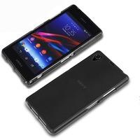 Чехол-накладка на Sony Xperia Z1 силикон, черный