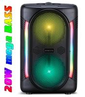 Напольная колонка, Орбита OT-SPF18, Bluetooth, USB, FM, AUX, TF, 20Вт, 2000mAh, микрофон, пульт