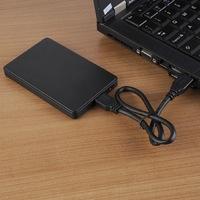 "Бокс для HDD, 2.5"", USB2.0, черный"