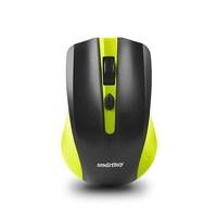 Мышь проводная, Smart Buy 352 SBM-352-GK, оптическая, 3кн, черно-зеленый