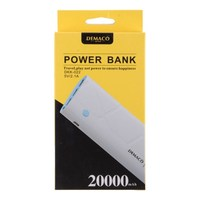 Портативный аккумулятор PowerBank 20000mAh, Demaco DKK-22