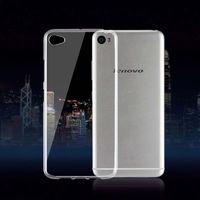Чехол-накладка на Lenovo S60 силикон, ультратонкий, прозрачный