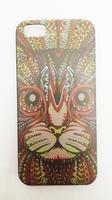 Чехол-накладка на Apple iPhone 5/5S, пластик, animals 6