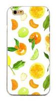 Чехол-накладка на Apple iPhone 6/6S, пластик, fruit 5