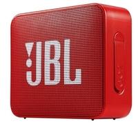 Портативная колонка, JBL GO 2, Bluetooth, AUX, 3Вт, 730 mAh, IP65, красный