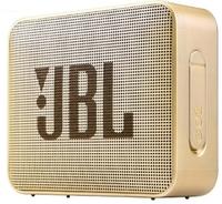 Портативная колонка, JBL GO 2, Bluetooth, AUX, 3Вт, 730 mAh, IP65, золотистый