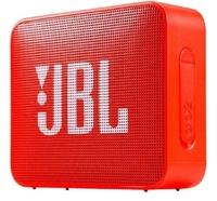 Портативная колонка, JBL GO 2, Bluetooth, AUX, 3Вт, 730 mAh, IP65, оранжевый