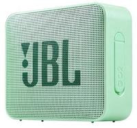 Портативная колонка, JBL GO 2, Bluetooth, AUX, 3Вт, 730 mAh, IP65, светло-зеленый