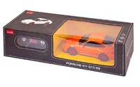 Машина на Р/У Rastar, Porsche GT3 RS, 1:24, оранжевый