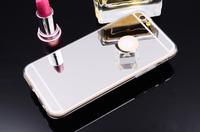 Чехол-накладка на Apple iPhone 7/8/SE2, силикон, зеркальный, серебристый