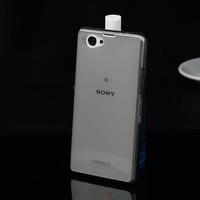 Чехол-накладка на Sony Xperia Z3 compact силикон, прозрачный