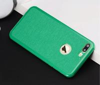 Чехол-накладка на Apple iPhone 6/6S, силикон, противоударный, зеленый