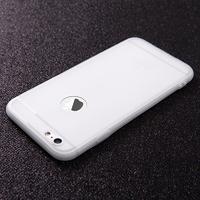 Чехол-накладка на Apple iPhone 7/8 Plus, силикон, матовый, с вырез., белый