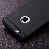 Чехол-накладка на Apple iPhone 7/8 Plus, силикон, матовый, с вырез., черный