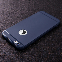 Чехол-накладка на Apple iPhone 7/8, силикон, матовый, с вырез., синий