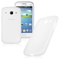 Чехол-накладка на Samsung Core (i8260, i8262) силикон, белый