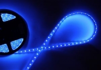 Светодиодная лента 3528, б/вл IP20, 12в, 4,8Вт.м, 60д.м. 5м, синяя