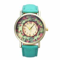 Часы наручные Noname, ц.зеленый, р.зеленый, кожа