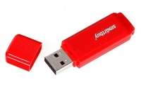 Память USB 2.0 Flash, 16GB, Smart Buy Dock Red