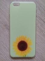 Чехол-накладка на Apple iPhone 6/6S, пластик, flower 4