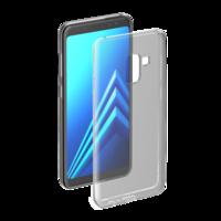 Чехол-накладка на Samsung A8 (A530) (2018) силикон, ультратонкий, прозрачный