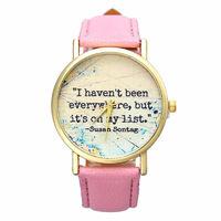 Часы наручные Noname, ц.цветной, р.розовый, кожа