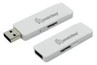 Память USB 2.0 Flash, 32GB, Smart Buy Dash White