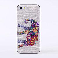 Чехол-накладка на Apple iPhone 6/6S, пластик, elephant