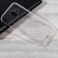 Чехол-накладка на Samsung J2 Core (J260) силикон, ультратонкий, прозрачный