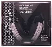 Наушники Elmcoei EV90, полноразмерные, складывающиеся, черный