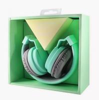 Наушники Elmcoei EV90, полноразмерные, складывающиеся, зеленый