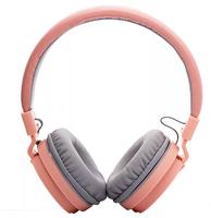 Наушники Elmcoei EV90, полноразмерные, складывающиеся, розовый