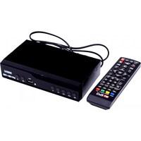 ТВ ресивер, цифровой DVB-T2, OTAU М13, HDMI, RCA, HD плеер, Wi-Fi