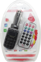 FM-модулятор, Activ M-062, USB/SD/microSD, пульт