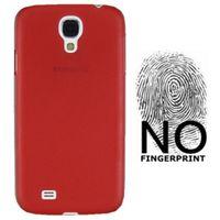 Чехол-накладка на Samsung S4 пластик, красный