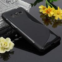 Чехол-накладка на Samsung Grand Prime (G530) силикон, черный