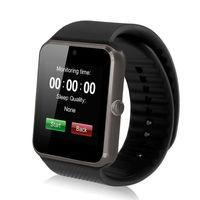 Смарт-часы GT08, microSim, 240*240 TFT, BT, 0,3Mp cam, microSD, графитовый