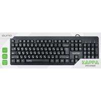 Клавиатура проводная QUMO Kappa K17, черный