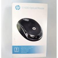 Мышь проводная, HP S1600, оптическая, 3кн, черный