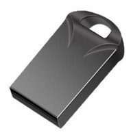 Память USB 2.0 Flash, 8GB, BiNFUL, металл, style 12, черный