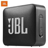Портативная колонка, JBL GO 2, Bluetooth, AUX, 3Вт, 730 mAh, IP65, черный