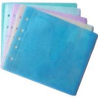 Конверт для CD 2-сторонний, голубой