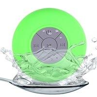 Портативная колонка, Noname, Bluetooth, влагозащитная, 5 кн, микрофон, зеленый
